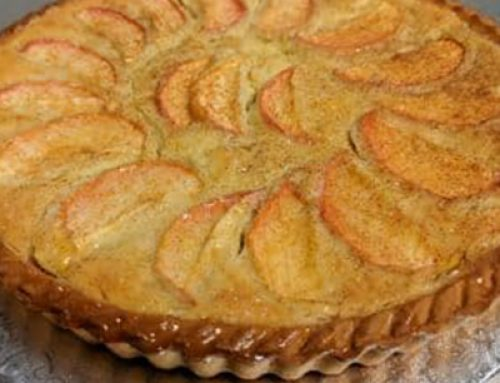 Celebrate the season with this easy to make Frangipane Tart